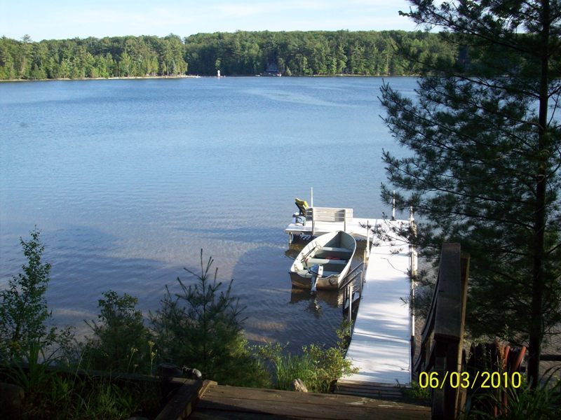 A view from the Jurgens & Waller Cabins
